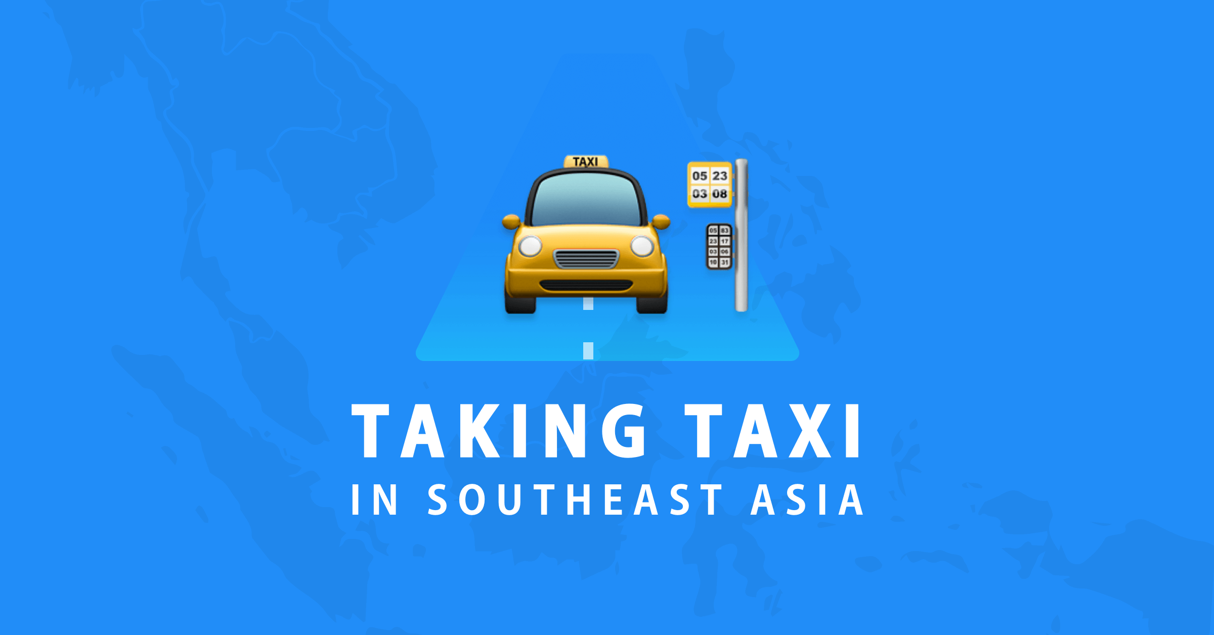 8 taxi alternatives for corporate travellers in Southeast Asia