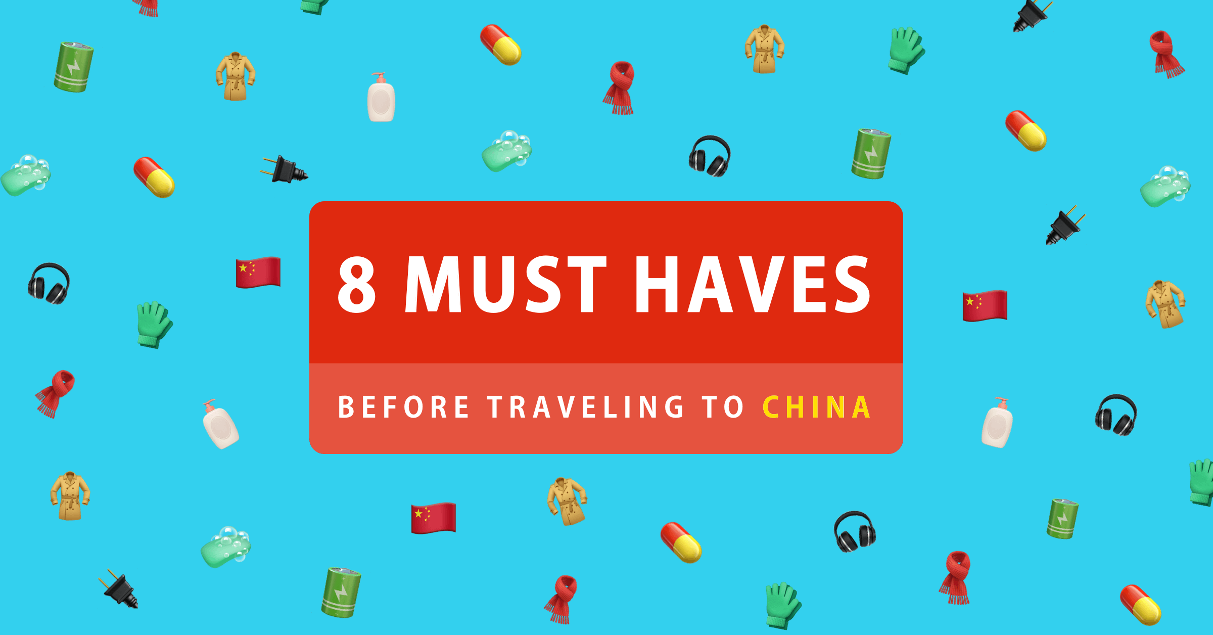The essential packing list for business travellers going to China